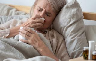 influenza anziani