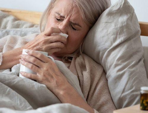 Come fronteggiare l'influenza negli anziani